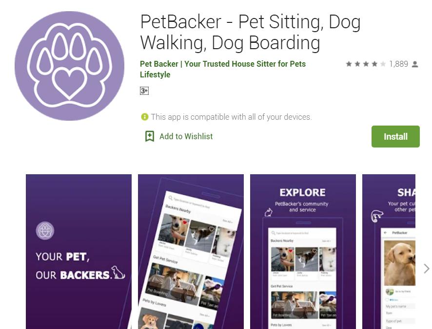 PetBacker