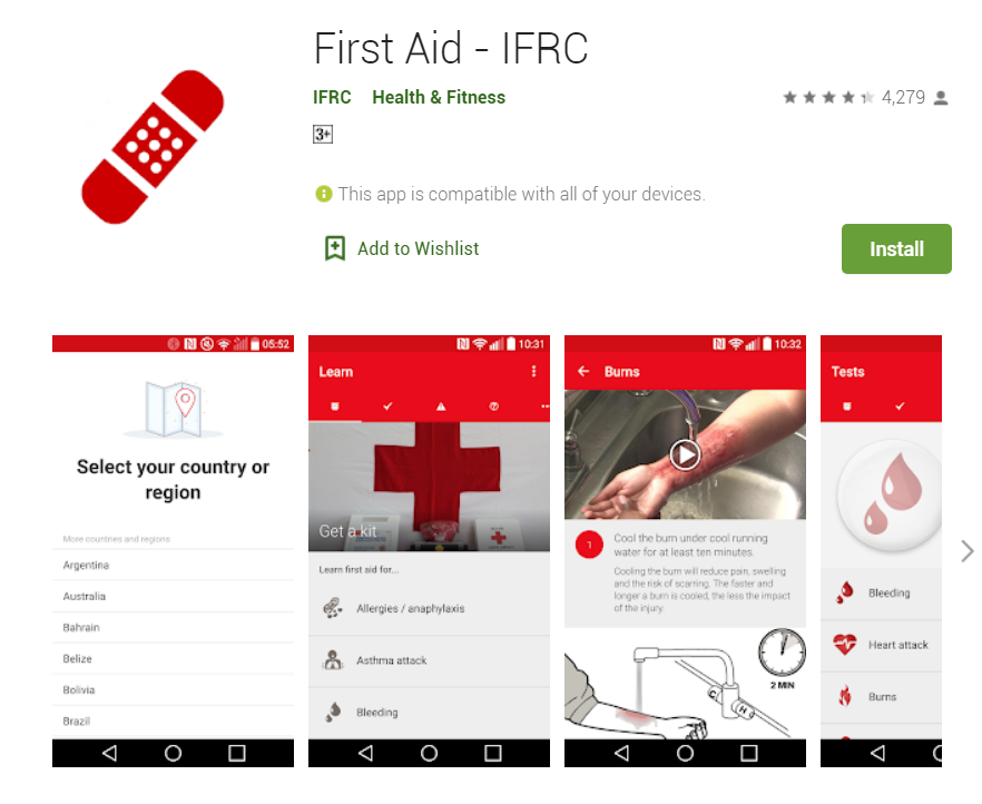 First Aid - IFRC